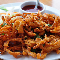 Thumb onion bhajee