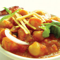 Thumb aloo chana